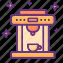 coffee, machine, hot, drink