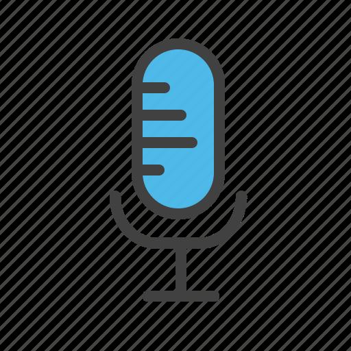 audio, mic, microphone, voice icon