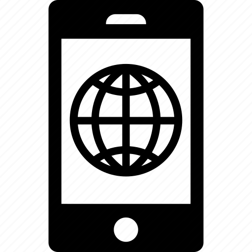 connection, internet, phone, smartphone icon