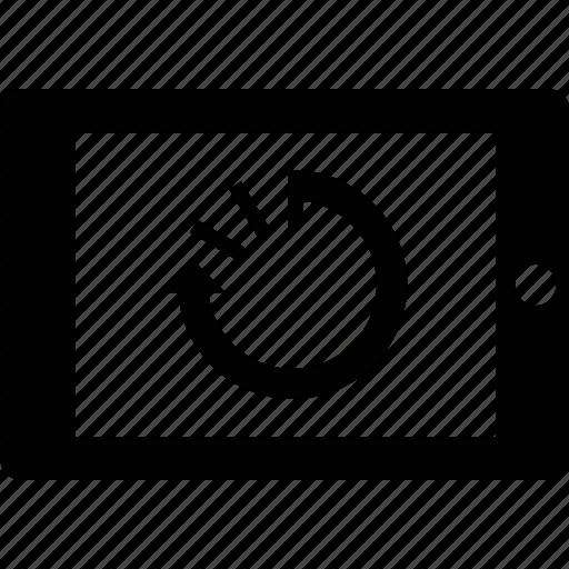 reset, restart, shutdown, tablet icon
