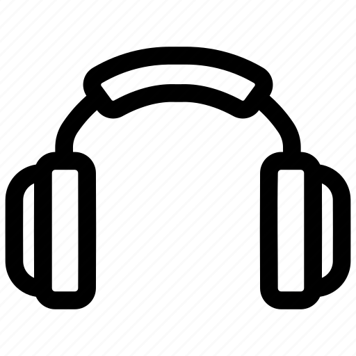 ear, head phone, sound icon