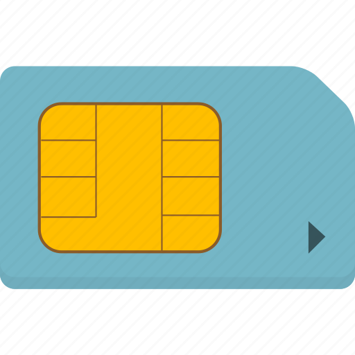 card, mobile, sim icon