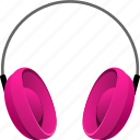 earphone, earphones, headphone, headphones, headset, music icon