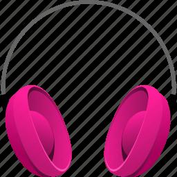 earphone, earphones, headphone, headphones, headset, music icon