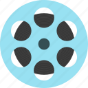 film, movie, multimedia, video icon