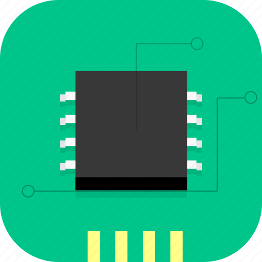 chip, cpu, electronic, hardware, processer, technology icon