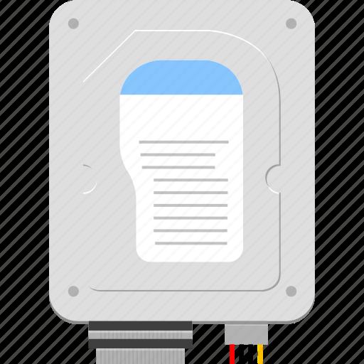disk, hard disk, storage icon