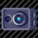 action, camera, device, electronic, hardware, photography, technology icon