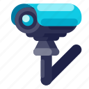 cctv, device, electronic, hardware, security, technology icon
