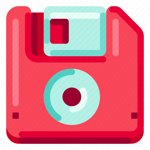 Computer, device, diskette, electronic, hardware, technology icon - Download on Iconfinder