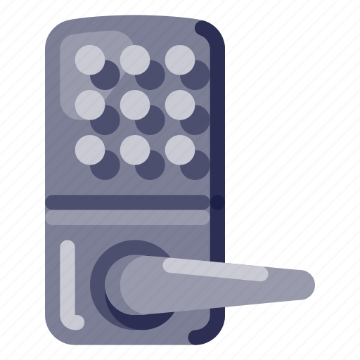 Computer, device, door lock, electronic, hardware, technology icon - Download on Iconfinder
