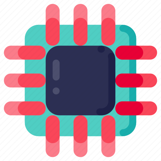 Computer, device, electronic, hardware, processor, technology icon - Download on Iconfinder