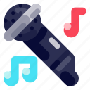 device, electronic, hardware, microphone, sound, technology icon
