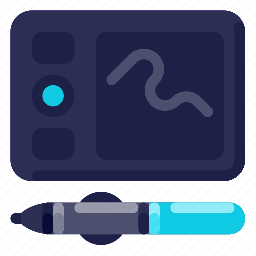 Computer, device, electronic, hardware, pen, tablet, technology icon - Download on Iconfinder