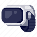 computer, device, electronic, hardware, internet, technology, vr glass icon