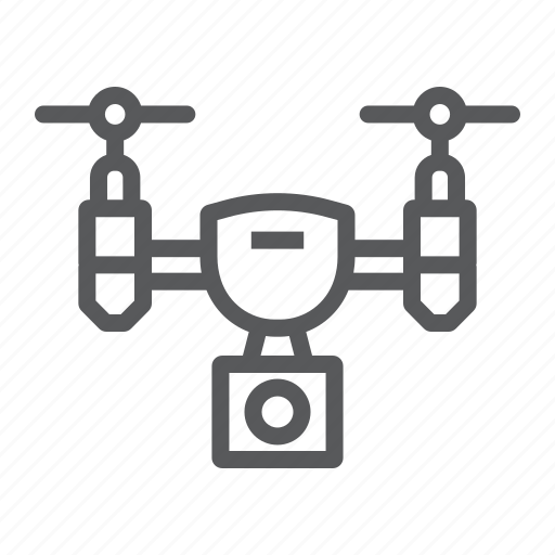 aircraft, copter, device, drone, fly, quadcopter, video icon