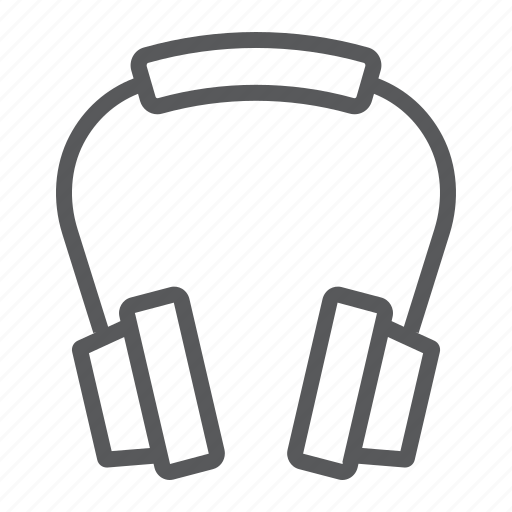 device, earphone, headphones, headset, music, sound, stereo icon