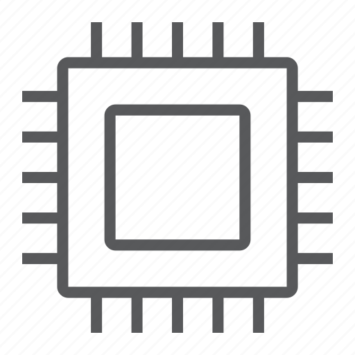Chip, core, cpu, microchip, processor, technology icon - Download on Iconfinder