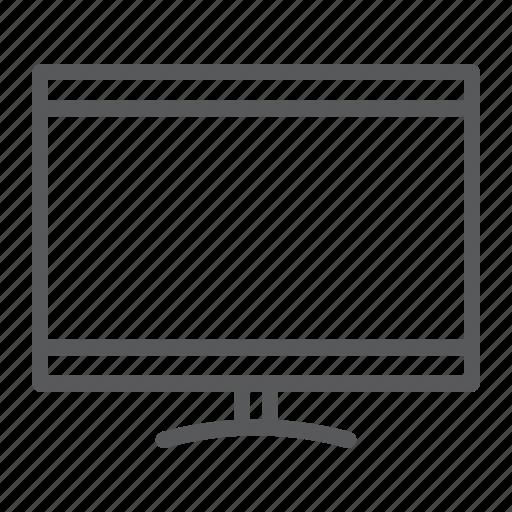 lcd, monitor, screen, smart, technology, televison, tv icon