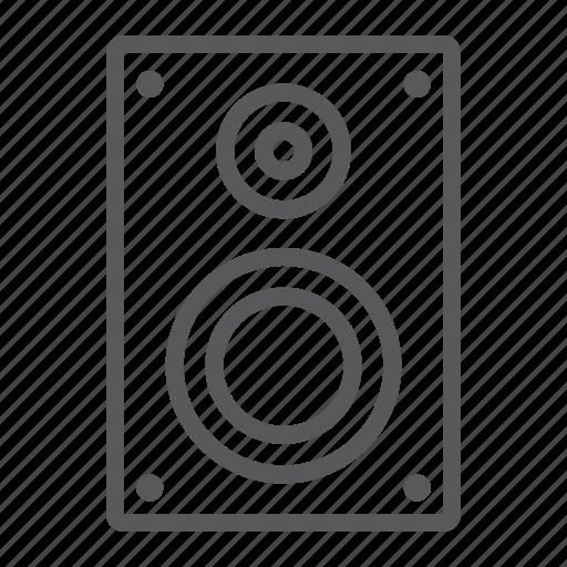 audio, digital, loudspeaker, music, sound, speaker, studio icon