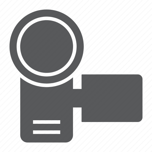 cam, camcorder, camera, device, electronic, media, video icon