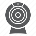 broadcast, cam, camera, chat, electronic, video, web icon