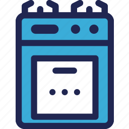 cooking, electronic, equipment, gas, home, kitchen, stove icon