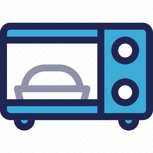 appliance, cooking, electronic, equipment, kitchen, microwave, oven icon
