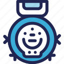 cleaner, electronic, equipment, home, robot, vacuum icon