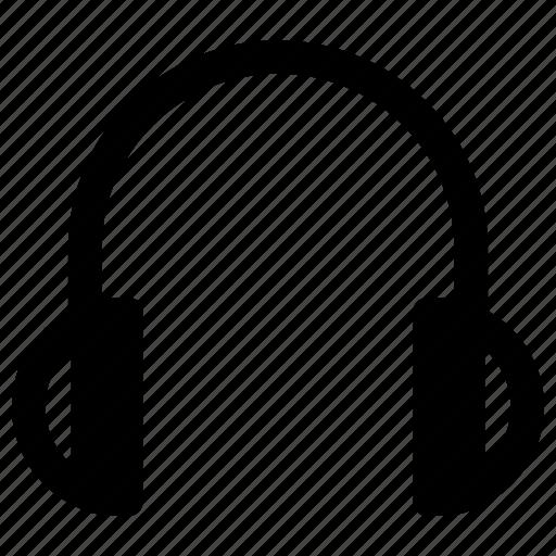 electronic, gadget, headphone, tech icon