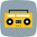 audio tape, music, sound icon