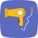 blower, hair blower, hairdryer icon