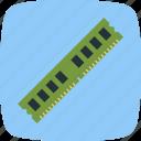 chip, memory, ram, random access memory icon