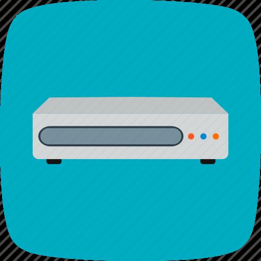cd player, dvd, movie icon