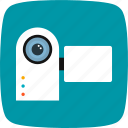 camcorder, camera, handy cam, handycam icon