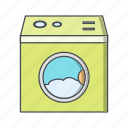 laundry, machine, washing, washing machine icon