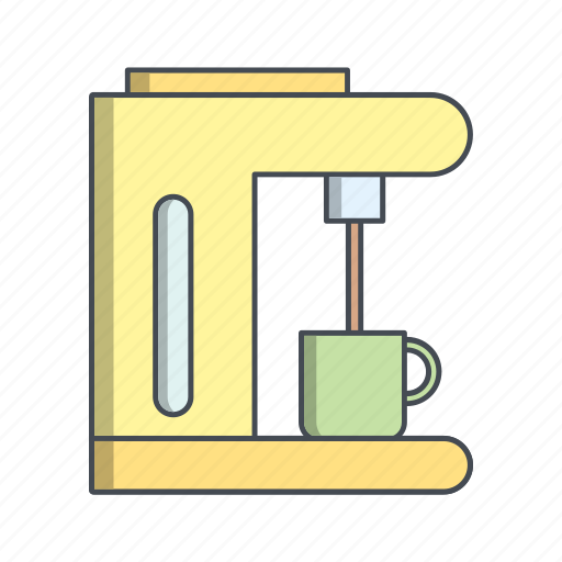coffee, espresso, maker icon