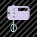 food mixer, gastronomy, mixer icon