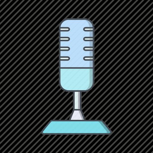 mic, microphone, recording icon