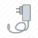battery, charge, charger, mobile charger icon