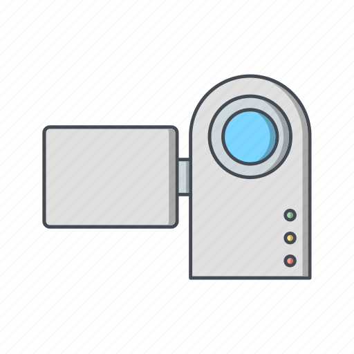 camcorder, camera, handy cam icon