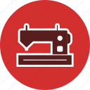 knit, machine, sewing machine, tailoring icon