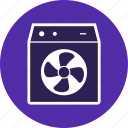 air, cooler, electronic device, room cooler icon