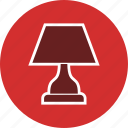 bulb, lamp, table lamp icon