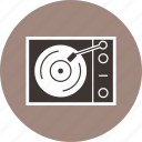 music, player, vinyl player icon