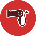 blower, dryer, hairdryer icon