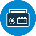 cassette, cassette player, music, player icon