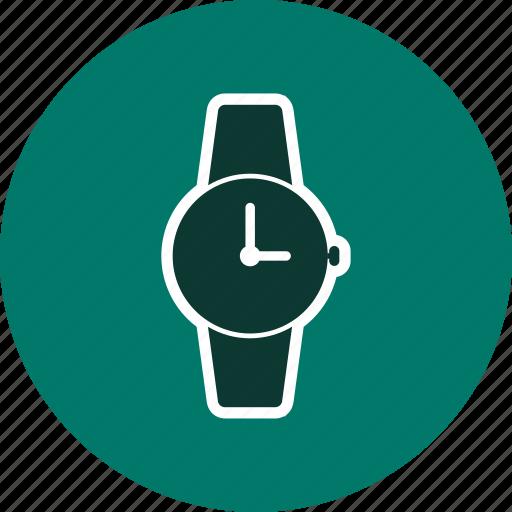 clock, watch, wrist watch icon