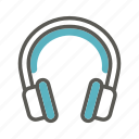 audio, headphone, headphones, headset, music, sound, stereo icon