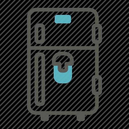 cold, cooler, freeze, fridge, home, kitchen, refrigerator icon